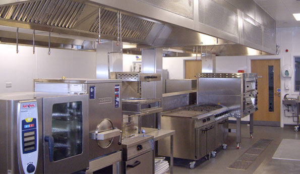 Commercial Kitchen Extraction Canopies - R S Vents